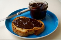 CHOCOLATE + OLIVE OIL GANACHE SPREAD